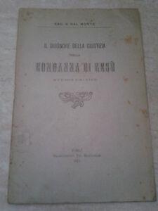 IL DISONORE DELLA GIUSTIZIA NELLA CONDANNA DI GESU. STUDIO CRITICO - 1911