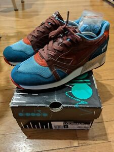 "NEW DIADORA x HANON N9000 ""THE SATURDAY SPECIAL""  - US9 Used"