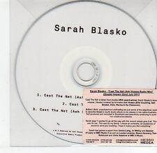 (EG621) Sarah Blasko, Cast The Net - 2013 DJ CD