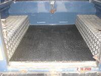 Bedliner Boot Liner Land Rover Defender 110 natural rubber