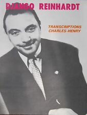 DJANGO REINHARDT partition guitare transcriptions Charles-Henry