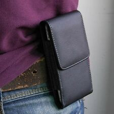 PU Leather Holster Case Wallet Card Waist Bag Pouch Belt Clip for iPhone 5 5S