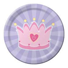 Fairytale Princess Luncheon Plate 8 Piece Party Decoration