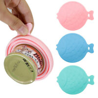 Pet Food Can Covers Silicone Lid Reusable Dog Cat Cap Food Water Storage Durable