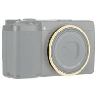 JJC Metal Lens Decoration Ring Replaces Ricoh GN-1 Ring Cap for Ricoh GR III GR3