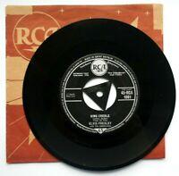 "NM/NM! ELVIS PRESLEY KING CREOLE 7"" VINYL 45 1958 ORIGINAL (RCA 1081) EX+"