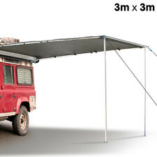Ex-Demo 3m x 3m Car Awning Tent Camper Trailer Camping 4WD 4X4 Grey