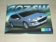 56032) Peugeot 407 SW Pressemappe 08/2004