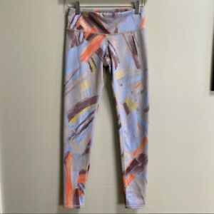NWT ALO Yoga Airbrushed Leggings Modernist Multi Size XS