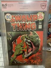 Swamp Thing 12 Signed By Bernie Wrightson CBCS 8.0 (Similar to CGC)