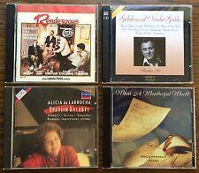CD - 4 Disc Compilation - C-5: Pandolfi, Gedda, Alicia de Larrocha, Rendezvous