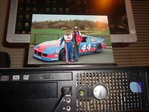 1993 Richard Petty & Rick Wilson STP Pontiac NASCAR Postcard... Not No. 43