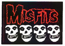15266 Misfits Crimson Ghost Skulls Red Logo Danzig Metal Punk Band Sticker Decal