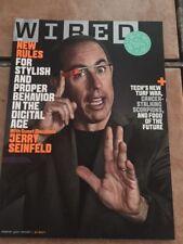 WIRED MAGAZINE  Jerry Seinfeld July 2014
