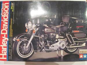 Tamiya  1/6    Harley Davidson  FLH Classic  ( Black Flash)      No Instruction