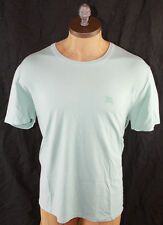 AUTH $155 Burberry Brit Men Green T Shirt 2XL