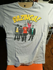 Big Bang Theory Bazinga t-shirt size L nerd Mr. Spock