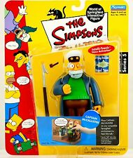 BRAND NEW Captain McCallister Simpsons Series 5 World Of Springfield WOS Figure
