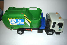 Tonka Go Green Recycling Garbage Truck with Sounds and Lights working