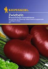 Kiepenkerl - Zwiebeln 531 * Braunschweiger Dunkelblutrote * Rote Zwiebelsamen