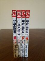 Manga DN Angel Volumes 1 2 3 4 English Manga Yukiru Sugisaki Lot of 4 FREE SHIP