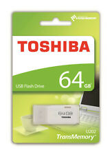 Toshiba 64GB TransMemory U202 USB Flash Drive Storage Memory Stick SEALED PACK