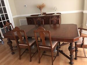 Antique Dining Sets 1900 1950 For Sale Ebay