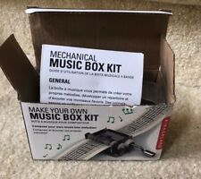 Kikkerland Make Your Own Music Box Kit - with extra tapes