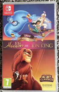 Nintendo Switch - Disney Classic  Aladdin And The Lion King - VGC - Free UK PP