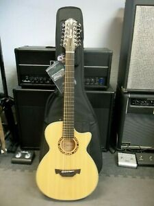 Crafter CTS150/12 12 STRING & padded gigbag. Pro setup - so no sore fingers!