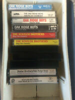 Oak Ridge Boys and Statler Brothers lot of 11 Cassette Tapes