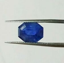 Kashmir Blue Sapphire 7.64 cts Natural IGI Certified See Video Loose Gemstone