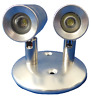 LED Up and Down Stainless Steel Twin Wall Light LED Compatible IP44
