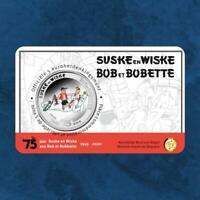 Belgien - Suske und Wiske Bob und Bobette - 5 Euro 2020 Coincard BU - Coloriert
