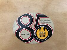 """Gold Eagle 85 Years Sticker Decal Vintage Racing Off Road Tool Box 4"""""""