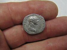 Rare Trajan,98-117 AD silver Denarius