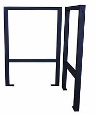 Pair Of Work Table Legs Support For Greenhouse Staging. Make Your Own Bench