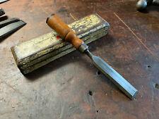 "Vintage Titan 1"" Bevel Edge Chisel Made in Australia Old Woodwork Hand Tools."