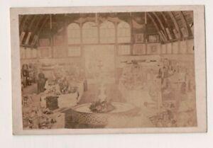 Vintage CDV Très Tôt 1866 Photo De Un Humanitaire Bazar Ou Balle en Date Du