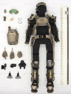 ARMOR SUIT (No battery) for SOLDIER STORY SS122 XO-SKELETON ARMOR SUIT 1/6