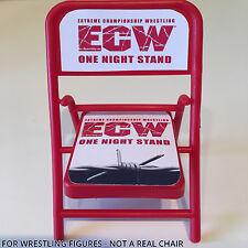 WWE Elite wrestling Figura Accessorio Sedia-ECW una sera Stand-Heyman Arma