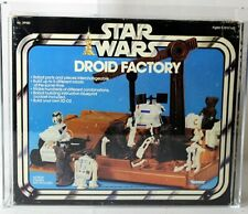Vintage Star Wars Boxed SW Playset Droid Factory AFA 75 #19653694