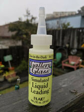 Gallery Glass Discontinued Glow in the Dark Liquid Leading 2 oz New Old Stock