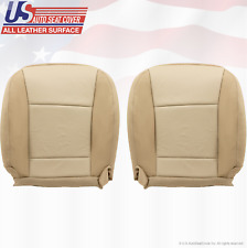 2006 2007 Mercury Mountaineer DRIVER & PASSENGER Bottom LEATHER Cover 2-TONE TAN
