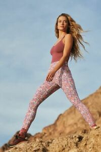 Free People Movement Plie All Day Leggings Floral Combo XS sample NEW