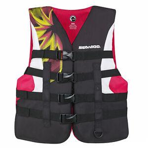 Sea-Doo New OEM Women's 3X-Large, Motion Life Jacket/PFD, 2858791636