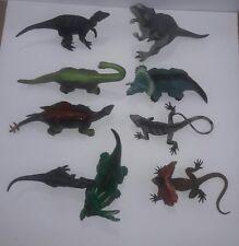 Lot of 9 Dinosaur Toys