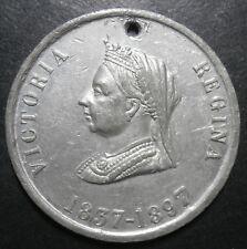 UK medallion - Victoria diamond jubilee 1897 - WM 60th year of reign 38.5mm