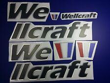 "wellcraft boat Emblem 30"" black + FREE FAST delivery DHL express"