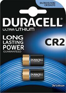 2 Duracell 3V Lithium, 1x 2er Blister High Power Lithium Batterien CR15H270 CR2